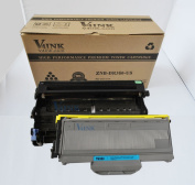 (1 Drum + 1 Toner) V4INK® New Compatible for Brother DR360 + TN360 Compatible Drum Unit and Toner cartridge