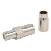 Cable Coupler, BNC/Female, RG59 Coax, PK 10