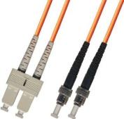3M Multimode Duplex Fibre Optic Cable (62.5/125) - SC to ST