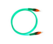 Audio2000s Adc2505g Green Transparent Digital Fibre Optical Audio Cable 1m