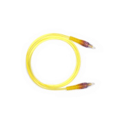 Audio2000s Adc2505y Yellow Transparent Digital Fibre Optical Audio Cable 1m