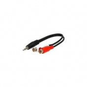 Skque 3.5mm to RCA Stereo Female Cable (6 inch/18cm) [Electronics]