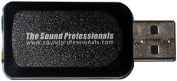 Sound Professionals Compact USB Microphone Mono USB High Sensitivity Omnidirectional Microphone with Headphone Amplifier For Live Monitoring - Windows and Mac Compatible - No Batteries