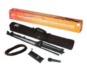 Brand New Peavey Msp1 Pv Series Microphone + Mic Stand Package w/ Carry Bag + Mic Clip + Microphone Cable + Mic Stand