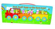 Toot Toot Farm Train [Board book]