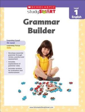 Scholastic Study Smart Grammar Builder Grade 1