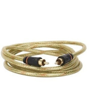 1.8m GoldX PlusSeries GXAV-DC-06 S/PDIF (M) to (M) Coaxial Digital Audio Cable w/24K Gold Plated Connectors