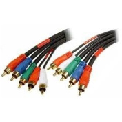 Cmple - 3.7m Component Video & Audio Stereo Cable 5-RCA