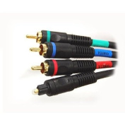 Premium Component Video with Toslink Audio CABLE - 3.7m