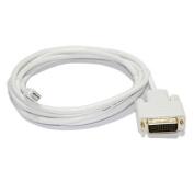 1.8m Mini Displayport Male to DVI Male Cable
