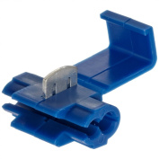 Morris Products 10774 Quick Splice Connector, Blue, 18-14 Wire Range