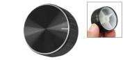 Black Aluminium Volume Control Amplifier Knob Wheel
