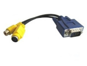HDE (TM) VGA to S-Video/RCA Adapter for Matrox Video Cards