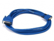 Monoprice 100347 10-Feet SMART SERIAL 26 P in M/DB15 M Cable-CAB-SS-X21MT