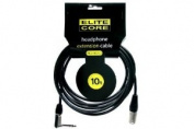Elite Core EC-PRO-HEX10 3m 0.6cm TRS - XLRM Headphone Extension Cable