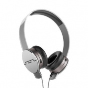 SOL REPUBLIC 1241-04 Tracks HD On-Ear Headphones with Three-Button Remote and Microphone, Grey