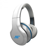 SMS Audio SMS-WD-WHT Street by 50 Cent Wired Over-Ear Headphones - White