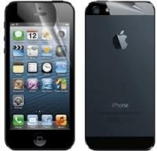 3 Sets (3 Front & 3 Back) CyberTech Crystal Clear Screen Protector for Apple iPhone 5