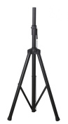 Gator RI-SPKRSTD Tubular speaker stand with 180cm maximum height with Multiple height adjustment levels