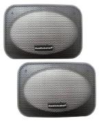 Pair of 10cm x 15cm Car Speaker Grills