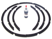 38cm Pro-grade Rubitex Speaker Gaskets-adhesive Included
