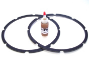 30cm Pro-Grade Speaker / Subwoofer Chip Gaskets-adhesive included