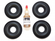 4 KEF Donut Foam Dust Caps with Adhesive