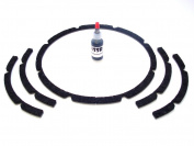 25cm Pro-grade Rubitex Speaker Gaskets-adhesive Included