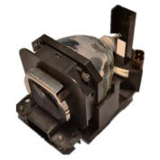 Brand New ET-LAX100 Replacement Lamp with Housing for PANASONIC PT-AX100E Projectors
