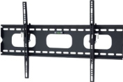 Mount-It! Low-Profile Tilting TV Wall Mount Bracket for 80cm - 150cm LCD, LED, OLED, 4K or Plasma Flat Screen TVs - 80kg Capacity, 3.8cm Profile, Max VESA 600x 400