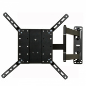 """VideoSecu Long Arm Cantilever Swivel & Tilt TV Mount Wall Bracket for most 26""""-120cm and some up to 140cm Fits VESA 400X400 400x300 400x200 300X300 200X200 LCD LED 3D TV and Display with Removable Mount Adaptor Plate (black) ML550B A47"""
