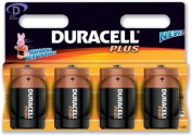 Duracell MN1300B4 Plus Alkaline General Purpose Battery