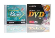 Ridata DVD+R Double Layer 2.4X (5 pieces) + DVD+RW 4X (1 piece) in gift box