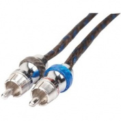Scosche HeXaDMM HeXaD Y-Cable Twisted Rca With Metal Barrels, 2 Male 1 Female