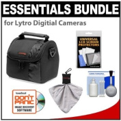 Essentials Bundle for Lytro Digital Cameras with Precision Design Case + Cleaning & Accessory Kit