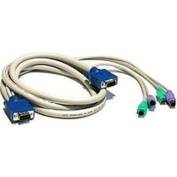 1.8m Single KVM Cable- Ser Ms/at Or PS2 Kybd & Vga for Switchview & S