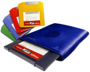 Iomega 100MB Zip Drive Starter Kit for PC or Mac- External USB Connexion - Includes Four 100MB Zip Discs