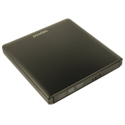 Pawtec External USB 3.0 Aluminium 8X DVD-RW Writer Optical Drive with Lightscribe