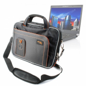 Custom Fit Laptop Case With Accessory Storage For Toshiba Netbook NB500, Netbook NB520, Satellite R830 & R630, By DURAGADGET