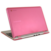 iPearl mCover Hard Shell Case for 29cm for Samsung Chromebook (Wi-Fi or 3G) laptop - Pink