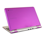 iPearl mCover Hard Shell Case for 29cm for Samsung Chromebook (Wi-Fi or 3G) laptop - Purple
