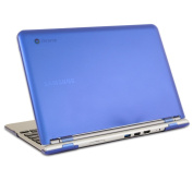 iPearl mCover Hard Shell Case for 29cm for Samsung Chromebook (Wi-Fi or 3G) laptop - Blue