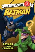 Batman Versus the Riddler (I Can Read Books