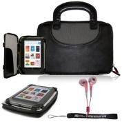 Premium Durable Professional Portfolio Cover Carrying Zipper Flip Case.