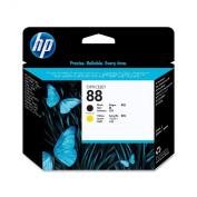 HP 88 Officejet Printhead-Black/Yellow