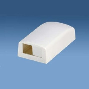 Panduit CBX2WH-AY 2-Port Surface Mounting Box for LD3/LDP3/LD5/LDP5, White