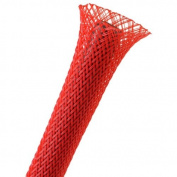 Techflex 1.3cm Expandable Sleeving 7.6m Red