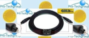 Pro-Techgroup Premium Series 11m TOSLINK to TOSLINK digital optical audio cable - for hometheater systems, PS2, PS3, Xbox,...