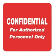 Tabbies Medical Labels for Confidential TAB40570