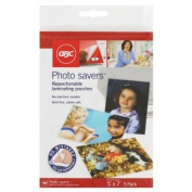 GBC Photo Savers Repositionable Laminating Pouches, 13cm x 18cm , 5 Pouches